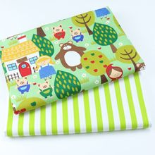 New Prints  baby Cotton twill fabric for DIY bedding cloth Sewing patchwork quilting and fashion dress making fabrics