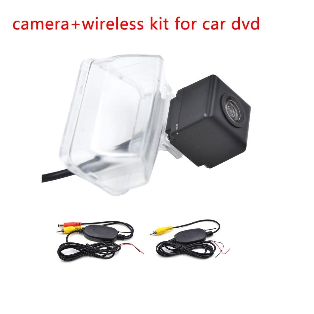 imágenes para Auto Cámara Inversa para Peugeot 206 207 307 308 408 Inalámbrica de Visión Trasera de Aparcamiento de Copia de seguridad Cam
