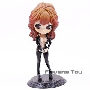 Qposket Anime Lupin III Rupan Sansei Character Mine Fujiko Cute Version PVC Figure Model Doll Toys for Girls(China)