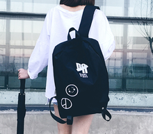 Street Trend Harajuku Style Backpacks Preppy Letter Unisex Students Fashion Personality Hip-hop Travel Bags D171