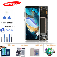 цена на 6.2Super AMOLED LCD For Samsung S8 Plus LCD Display Touch Screen with Frame Digitizer For Samsung S8 Plus Display G955F LCD