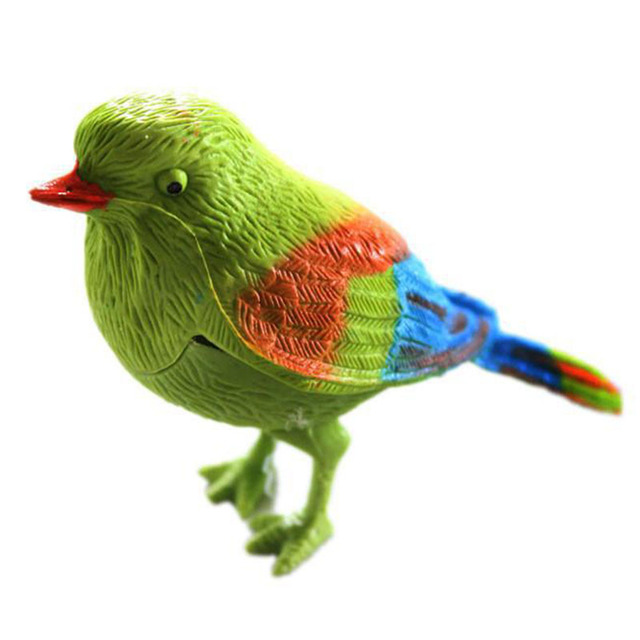 Funny Voice-activated Toy Bird Electronic Pets Simulation Bird Toys Sound-sensing Kids Voice-controlled Parrot Educational Toys
