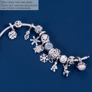 Image 2 - Video! Christmas Bells Genuine 925 Sterling Silver Charm Beads Fit Original Bracelet Necklace Authentic Jewelry DDBJ110