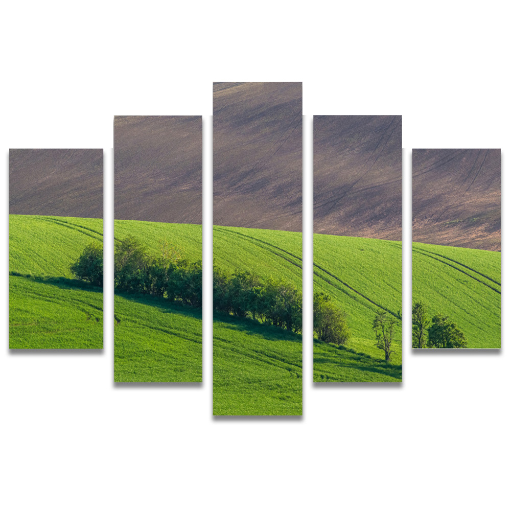 Unframed Canvas Painting Meadow Photo Picture Prints Wall Picture For Living Room Wall Art Decoration Dropshipping