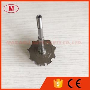 Image 3 - GT3076R GTX3076R GTX3067R 55/60mm 9 Lưỡi dao bi Turbo Turbine bánh trục/tuốc bin trục & bánh xe