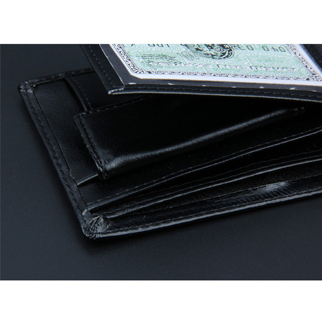Men Bifold Business Wallet