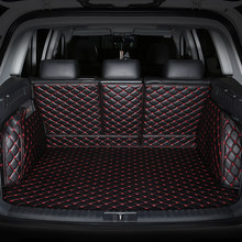 Special car trunk mats for Mitsubishi All Models ASX Lancer SPORT EX Zinger FORTIS Outlander Grandis auto styling Cargo Liner(China)