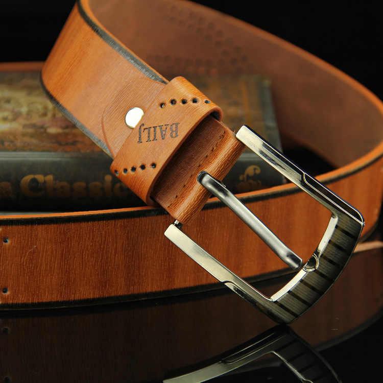 Новый мужской ремень пряжка буквы Коричневые джинсы ремень Повседневная мода Античный Ретро полые хорошего качества мужские модели пояса