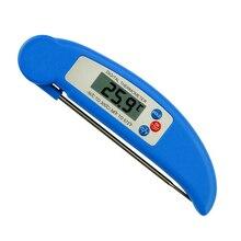 Электрический домашний термометр для еды, складной термометр для воды, молока, Детская ванна, температурный измерительный зонд, Кухонный Термометр для барбекю, жарки, мяса