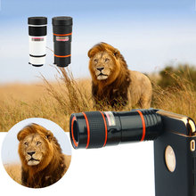 8X Zoom Telephone Lens Common Telescope Telephoto Digital camera Lens With Clip For iPhone 6 6S 7 plus Samsung edge Cell Telephone Lenses