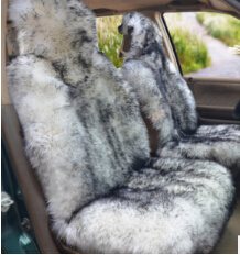 Special Favourable Winter Genuine Pure Wool Long Fur Universal Car Seat Cover Set