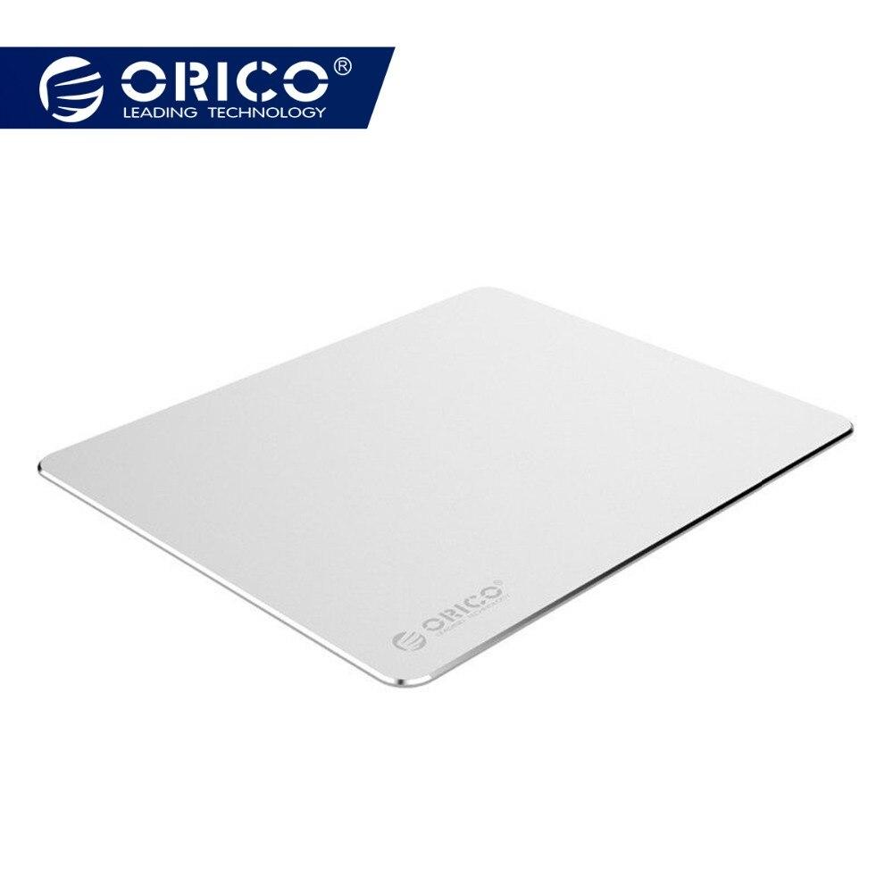 ORICO Aluminium Maus Pad mit 1,5mm Aluminium & 0,5mm Gummi für Haus, Büro, Business, etc (AMP2218)