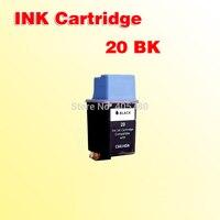 1 cartucho de tinta negra for20 para impresora 20 C6614D DeskJet 610C 610CL 612C 640C 656C 630C 632C 642C