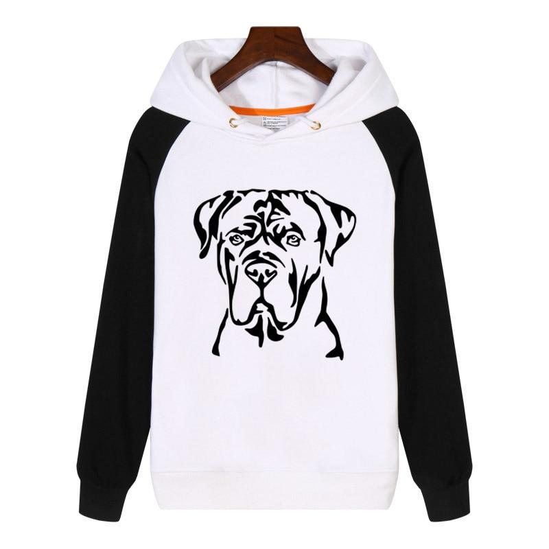 Cane Corso Dog Mastiff Hoodies fashion men women Sweatshirts winter Streetwear Hip hop Hoody Tracksuit Sportswear GA889