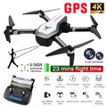 ZLRC Beest SG906 GPS 5G WIFI FPV Met Selfie Opvouwbare 4 K 1080 P Ultra HD Camera RC Drone quadcopter RTF VS XS812 XS809HW SG106