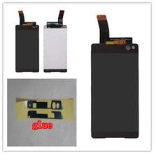 6.0 inch black white For Sony Xperia C5 Ultra E5506 E5533 E5563 LCD Display + Toush Screen Digitizer Assembly Free Shipping 4 6 white or black for sony xperia z3 mini compact d5803 d5833 lcd display touch digitizer screen assembly sticker