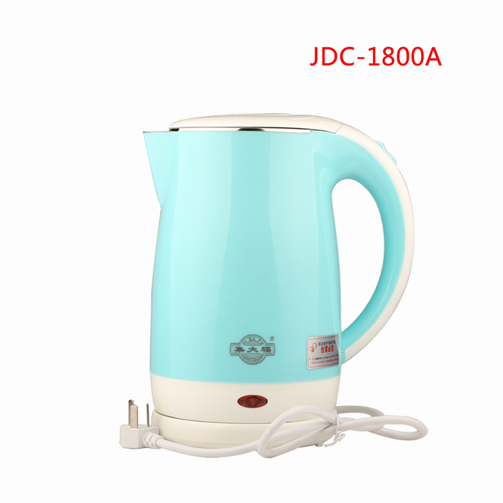 все цены на JDC-1800A Split Style Stainless Steel Quick Heating water Kettles Auto power off Electric kettle teapot boiler 1.8L 1500W онлайн