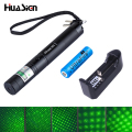 High quality Green Laser 303 Pointer presenter Lazer with safe key+battery+charger