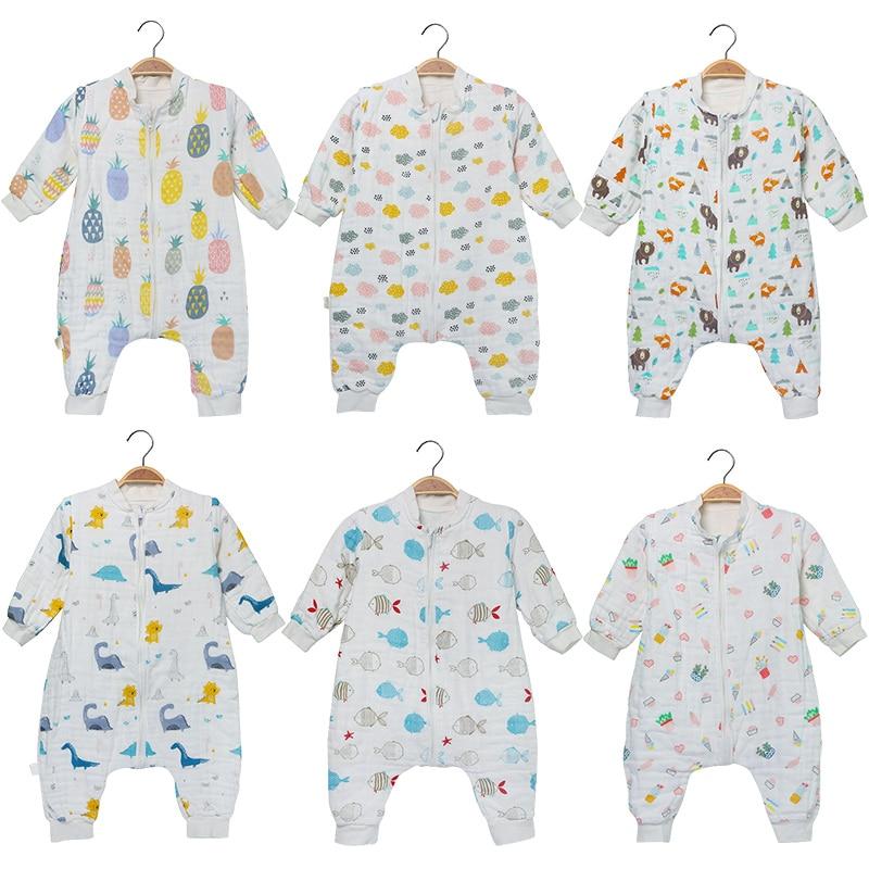 Baby Sleeping Bag Muslin Pure Cotton Comfortable Sleep