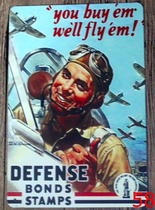 1 pc War Plane French Army Motivation Hell Machine gun Tin Plate Sign wall plaques Man cave vintage Dropshipping metal Poster