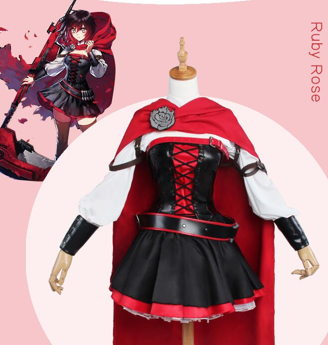 RWBY cosplay Ruby Rose Little red riding hood