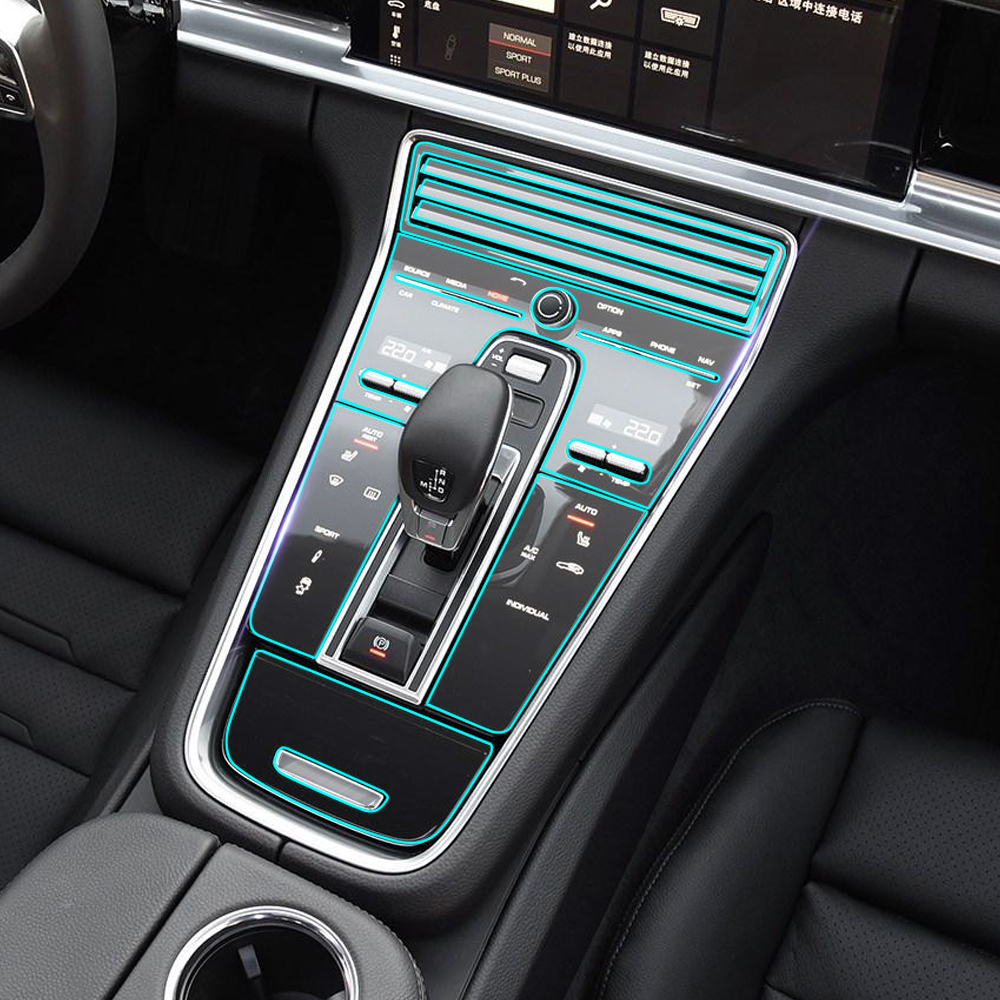 Sticker For Range Rover Sport Transparent Promotion Tpu: Car Central Console Panel Paint Clear Transparence