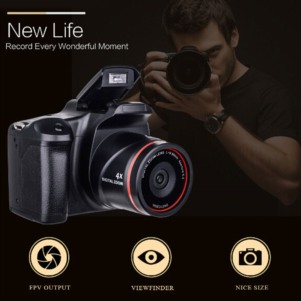 Cewaal professionnel numérique caméscope numérique caméra numérique 1200 W optique Zoom 4X DVR photographie Photo CMOS cadeau - 3