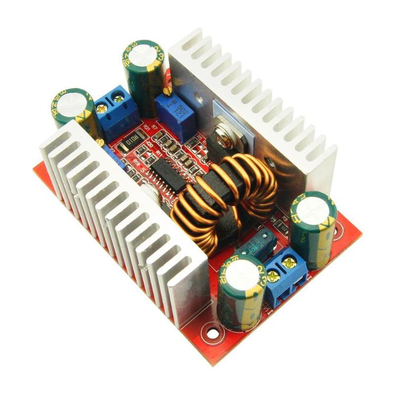 400 watt 15A DC-DC Power Converter Boost Modul Schritt-up Konstante Netzteil Modul 8,5 v-50 v zu 10 v-60 v LED Boost Modul