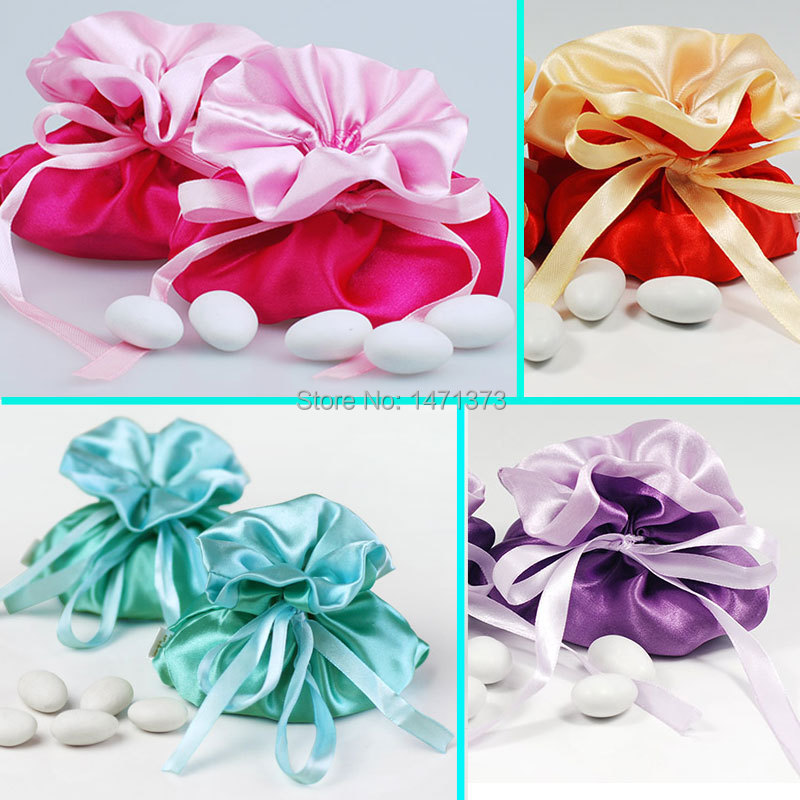 2017 Top Fashion Wedding Cake Topper Satin Favors Pouch Candy Box Bags Lembrancinhas Casamento And Gifts Sweet Supplies On Aliexpress Alibaba