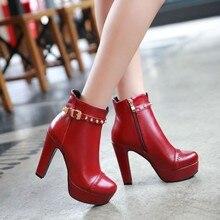Winter stijl dij hoge vrouwen vrouw femininas enkellaarsjes botas masculina zapatos botines mujer chaussure femme schoenen 603 2