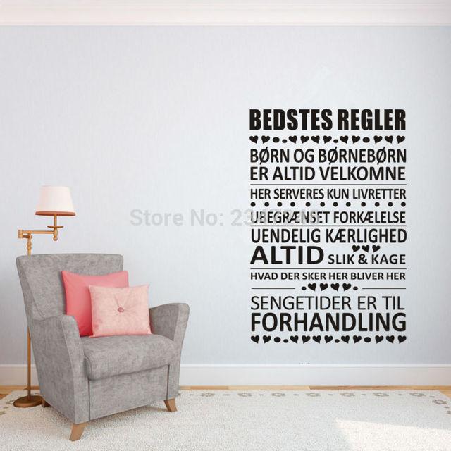 home citater Danmark Citater Vinyl Wall Stickers Denmark Quotes Wall Stickers  home citater
