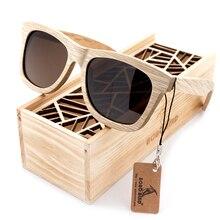 BOBO VOGEL Neue Mode Handgefertigten Holz Holz Sonnenbrillen Netter Entwurf für Männer Frauen gafas de sol steampunk Coole Sonnenbrille BS04