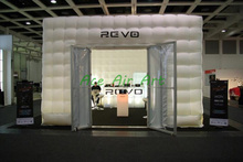 inflatable big air blow cube tent house, inflatable cube house for party wedding promotional