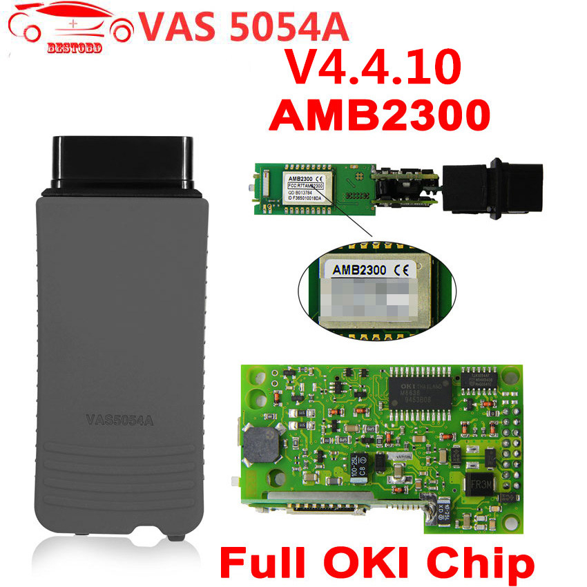Vas 5054a Odis V4.4.10 Bluetooth Car Diagnostic Instrument For Vw For Audi For Skoda For Seat Forbentley For Lamborghini For Man Buy One Get One Free Automobiles & Motorcycles Diagnostic Tools