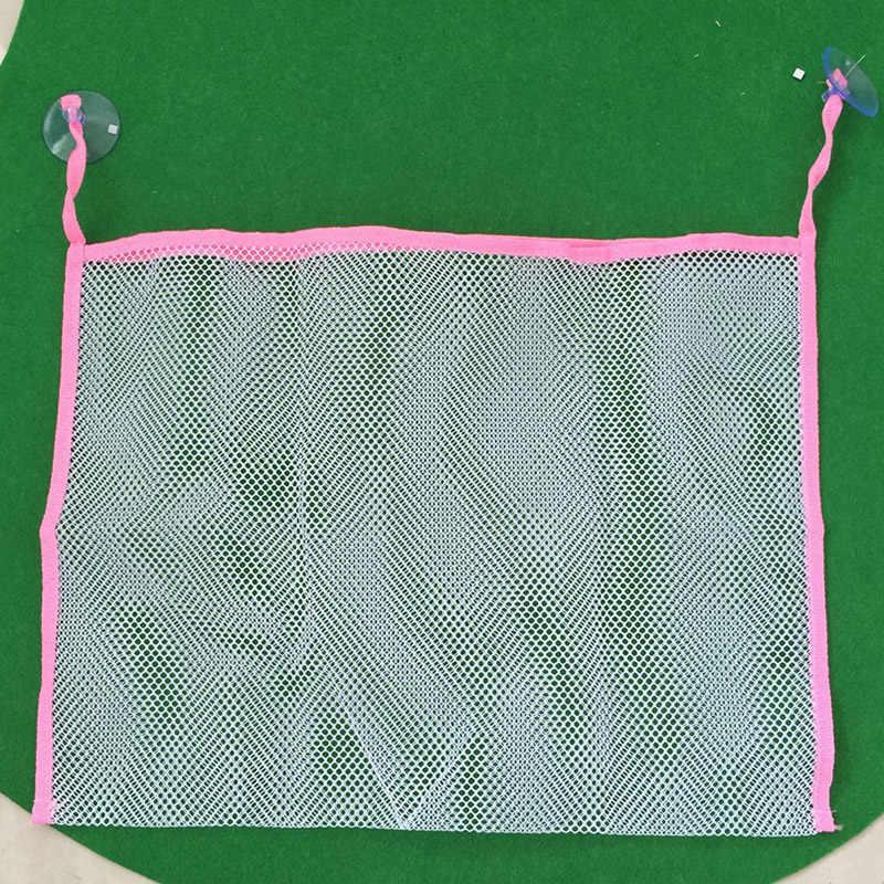 Kinder baby badewanne spielzeug lagerung net klapp hängenden tasche veranstalter für bad Haushalts schmutzige wäsche mesh korb 70