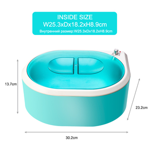 Image 5 - Parafina Hands Machine Hand Warmer for Paraffin Bath Foot Bath Wax Heater For Depilation Wax melt Hair Removel Device EU plug