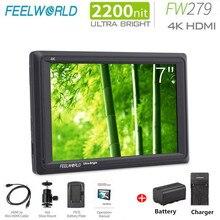 FeelworldFW279 7 »ips 2200nit дневной свет просмотра HDMI Full HD 1920×1200 Feild DSLR камера монитор с ложной функцией цвета