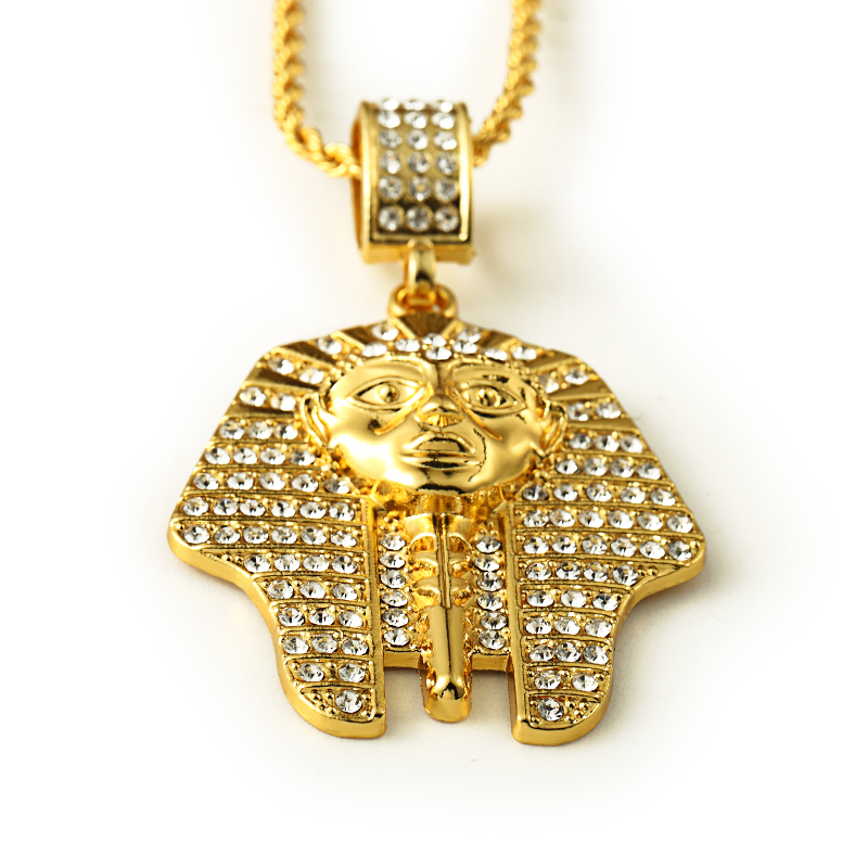 l chains piece necklace jesus hop hip plated micro gold chain