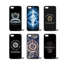 Supernatural Wing Castiel Logo TV Show Phone Case For Samsung Galaxy Note 2 3 4 5 S2 S3 S4 S5 MINI S6 S7 edge Active S8 Plus