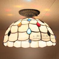 Свет светодиодный Павлин потолок лампы комната спальня балкон крыльцо огни освещение творческая личность круглый потолочный огни ZA