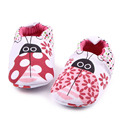 2016 Lovely Toddler Baby moccasins First Walkers Baby shoes Round Toe Flats Soft Slippers Shoes Cute animal  0-1 yeas