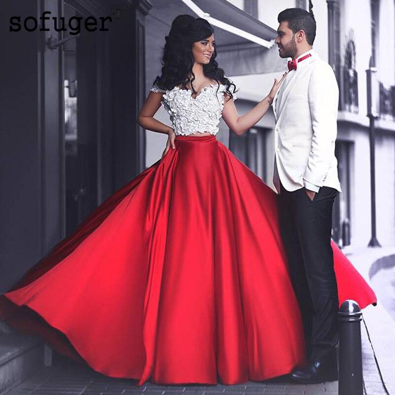 Elegant Sweetheart Off The Shoulder Satin Wedding Dress Robe De Mariee Sofuge Boho Dubai Arabic Abiti Da Sposa Long Dresses
