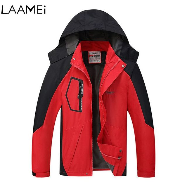 Laamei Men's Hiking Hunting Waterproof Jacket Men's Jackets Clothes Camping Outdoor Male Jacket And Coat Men's Clothing 2018
