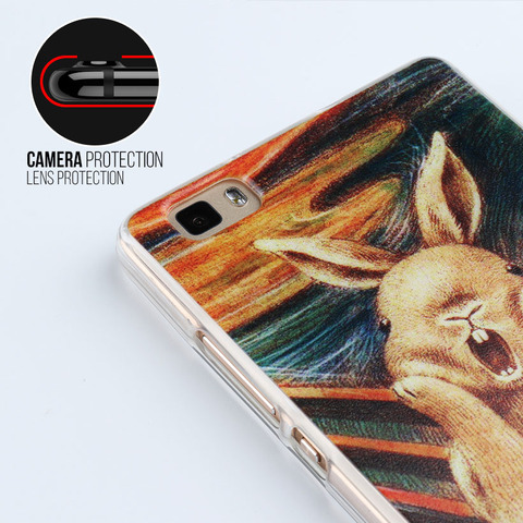 Anunob Case For BQ BQ-5591 Cases TPU Soft Silicone Cover Jeans BQ Mobile 5591 BQ5591 Covers Animal Painting Hot Selling Cover Lahore