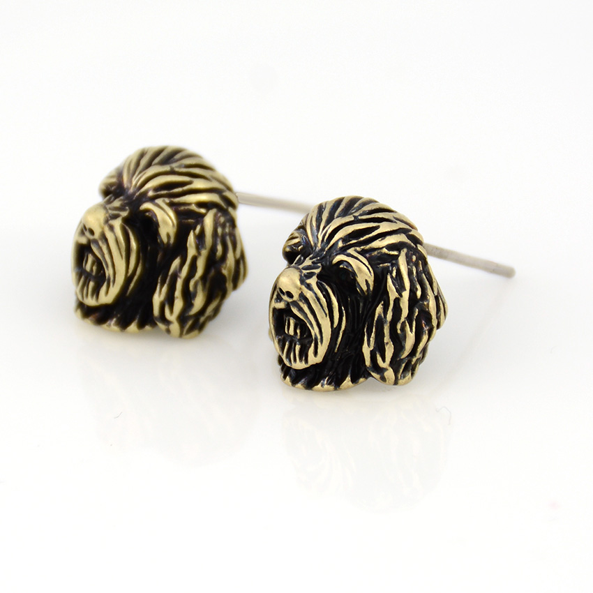Vintage Labradoodle&Goldendoodle Cockapoo Stud Earring Punk Dogs Earrings For Women Jewelry Christmas Gift Black Friday Deals