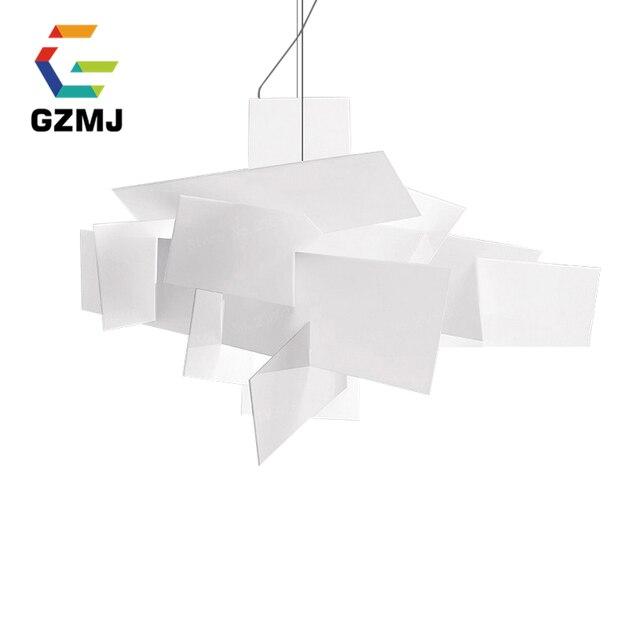 Special Price D65CM/92CM Modern Led Pendant Lamps Living Room Acrylic Restaurant Bedroom Home Pendant Lights Lighting Designer Art 90-260V