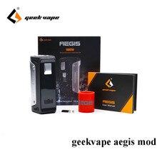 Оригинальный geekvape Aegis 100 Вт TC поле mod w/o аккумулятор без 26650 Fit 18650 26650 VAPE Ecigarette mod