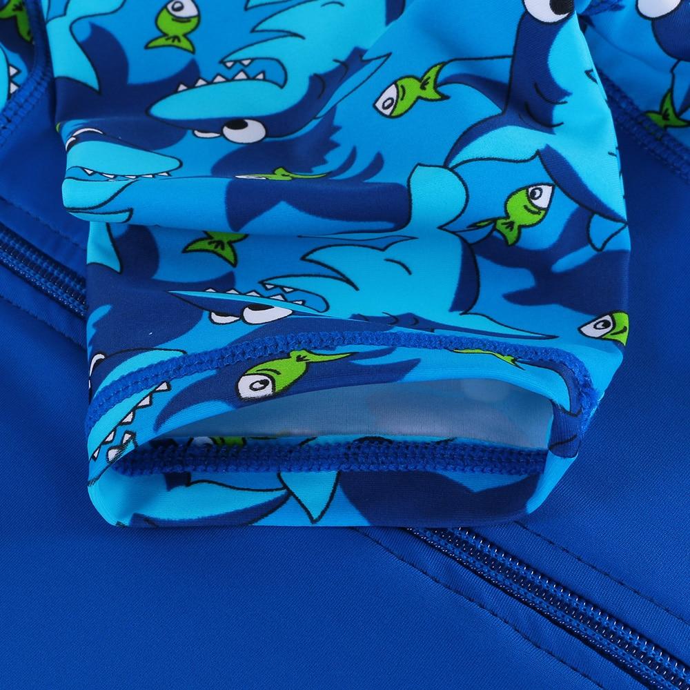 Strój kąpielowy BAOHULU Shark Character Kids (UPF50 +) Strój - Ubrania sportowe i akcesoria - Zdjęcie 4