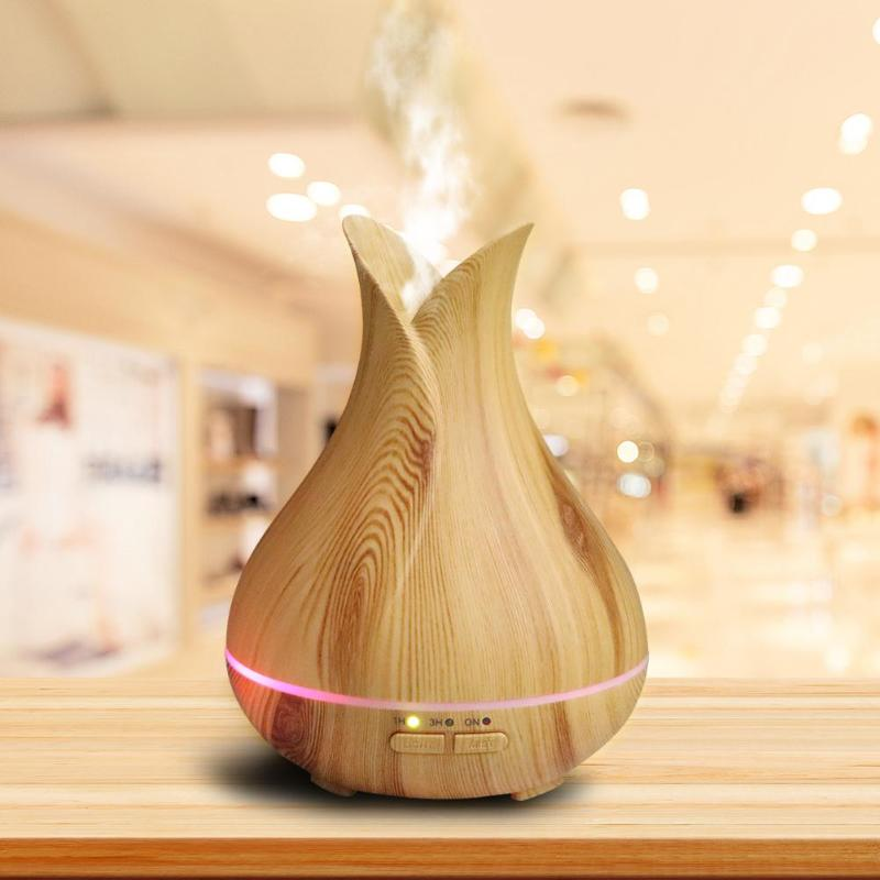 150ML Wood Air Humidifier Ultrasonic Humidifier Timer Aroma Diffuser Atomizer Air Frenshener Mist Maker Fogger Purifier aroma diffuser atomizer air humidifier led ultrasonic purifier fragrant 300ml pp y05 c05