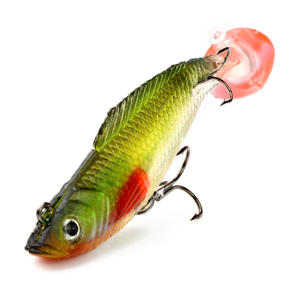 FISH KING 10cm 3Pcs/lot 10 Colour Fishing Lure Fishing Accessories Soft Baits Lure Silicone рыболовный поплавок night fishing king 1012100014 mr 002
